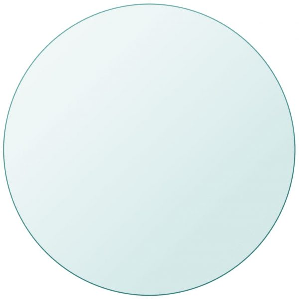 vidaXL Table Top Tempered Glass Round 300 mm