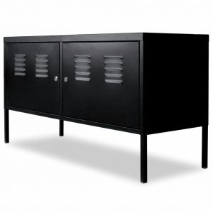 vidaXL TV Cabinet 118x40x60 cm Black