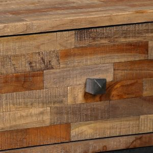 Side Cabinet with 6 Drawers 70x30x76 cm Solid Reclaimed Teak