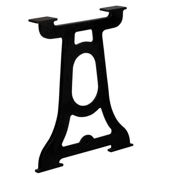 Dining Table Legs 2 pcs Y-Frame Cast Iron