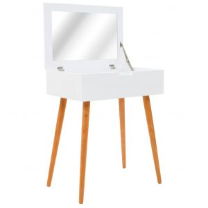 vidaXL Dressing Table with Mirror MDF 60x40x75 cm