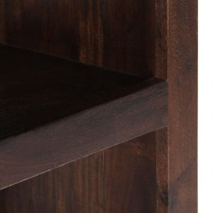 Console Cabinet 40x30x110 cm Solid Acacia Wood