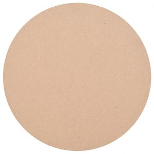 vidaXL Table Top Round MDF 500×18 mm