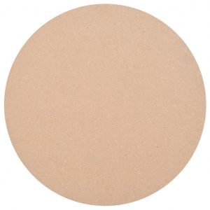 vidaXL Table Top Round MDF 600×18 mm