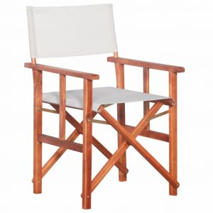 vidaXL Director's Chair Solid Acacia Wood