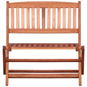 Children's Garden Bench 61 cm Solid Eucalyptus Wood