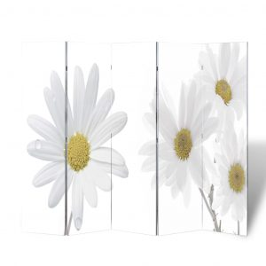 vidaXL Folding Room Divider Pint 200 x 170 Flower