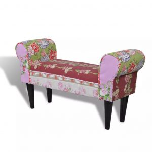 Patchwork Bench Floral Style