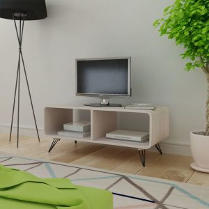 vidaXL TV Cabinet 90x39x38.5 cm Wood Grey
