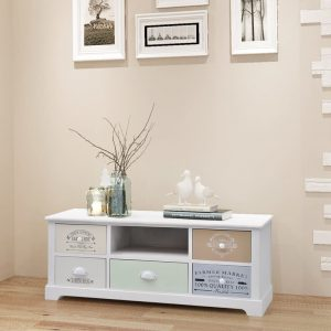 vidaXL French TV Cabinet Wood
