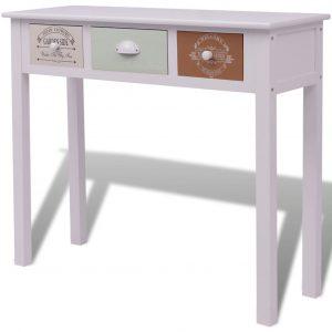 French Console Table Wood