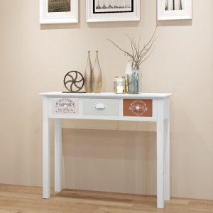 vidaXL French Console Table Wood
