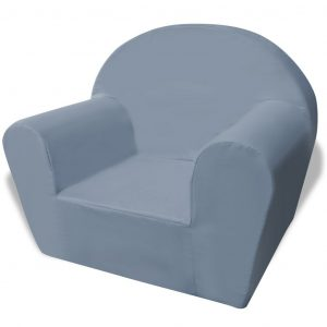 vidaXL Kids' Armchair Grey
