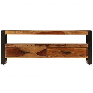 TV Cabinet 120x35x45 cm Solid Sheesham Wood