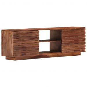 vidaXL TV Cabinet 120x30x40 cm Solid Sheesham Wood