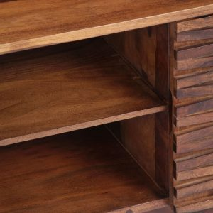 TV Cabinet 120x30x40 cm Solid Sheesham Wood
