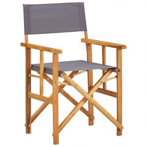 vidaXL Director's Chairs Solid Acacia Wood