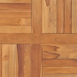 Table Top Solid Teak Wood Square 80x80x2.5 cm