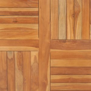Table Top Solid Teak Wood Square 90x90x2.5 cm