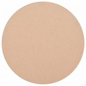 vidaXL Table Top Round MDF 400×18 mm