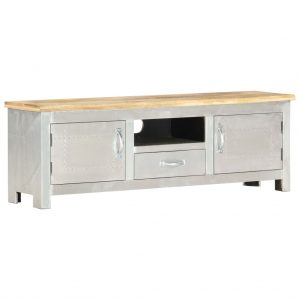 vidaXL Aviator TV Cabinet 120x30x40 cm Solid Mango Wood