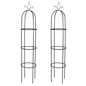 vidaXL Garden Arch Tower 2 pcs