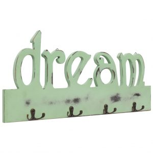 vidaXL Wall Mounted Coat Rack DREAM 50×23 cm