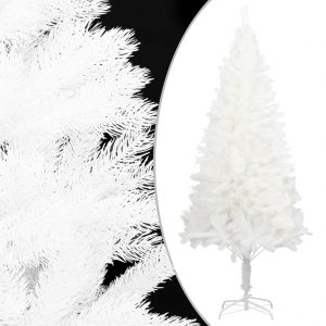 vidaXL Artificial Christmas Tree White with Stand 120 cm PE