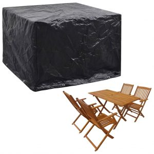 vidaXL Garden Furniture Cover 8 Eyelets 122x112x98 cm