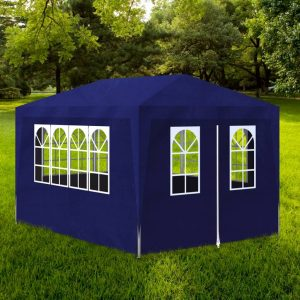 vidaXL Party Tent 3×4 m Blue