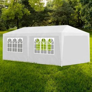 vidaXL Party Tent 3×6 m White