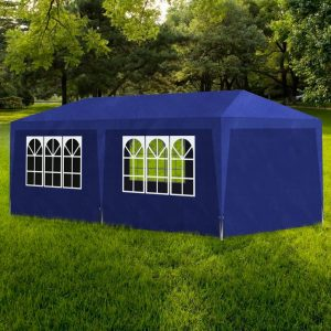 vidaXL Party Tent 3×6 m Blue