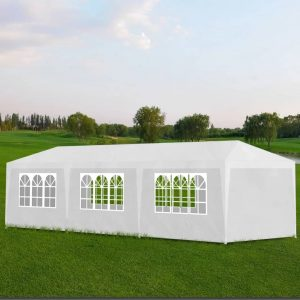 vidaXL vidaXL Party Tent 3×9 m White