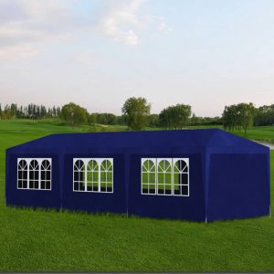 vidaXL Party Tent 3×9 m Blue
