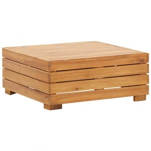 vidaXL Sectional Table 1 pc Solid Acacia Wood