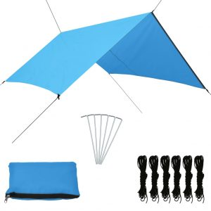 vidaXL Outdoor Tarp 3×2.85 m Blue