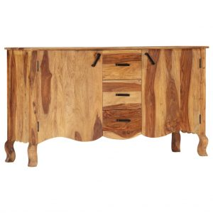 vidaXL Sideboard 145x40x80 cm Solid Sheesham Wood