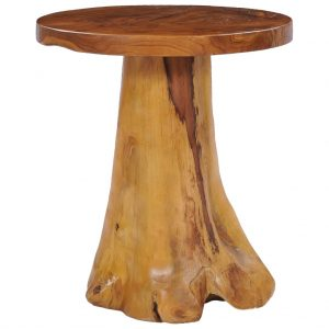 vidaXL Coffee Table 40×40 cm Solid Teak Wood